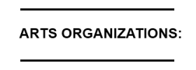 Arts-Organizations